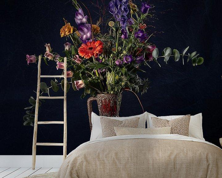 Beispiel fototapete: Blumen - Stilleben in der Vase von MICHEL WETTSTEIN