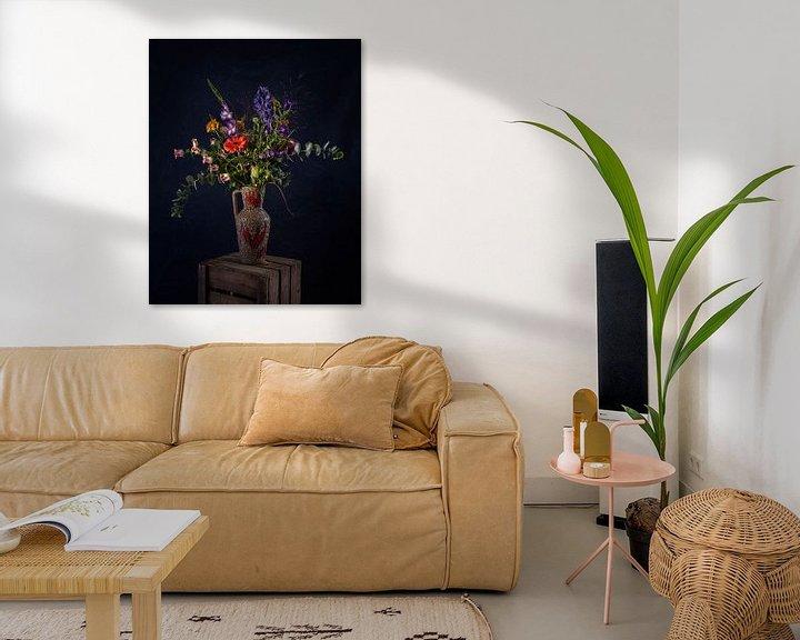 Beispiel: Blumen - Stilleben in der Vase von MICHEL WETTSTEIN