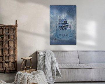 Das winterliche Kaffeehaus von Ursula Di Chito