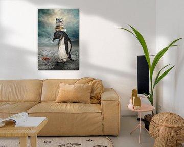 Der traurige Pinguin von Ursula Di Chito