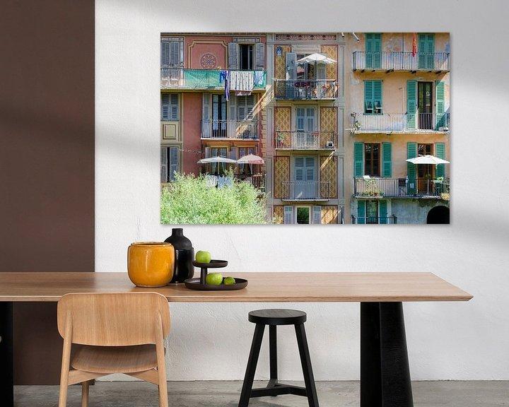 Beispiel: Bunte Häuser von Mark Bolijn