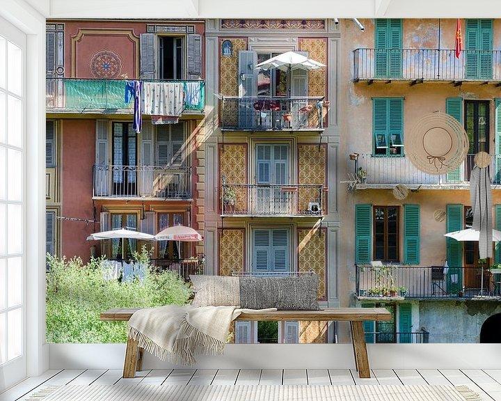 Beispiel fototapete: Bunte Häuser von Mark Bolijn