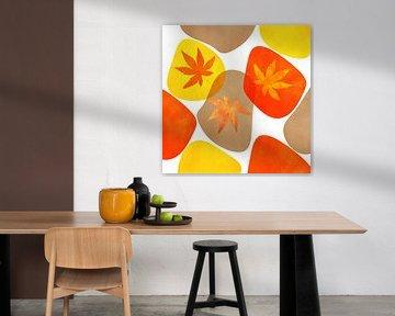 Herbst Abstrakt von Violetta Honkisz