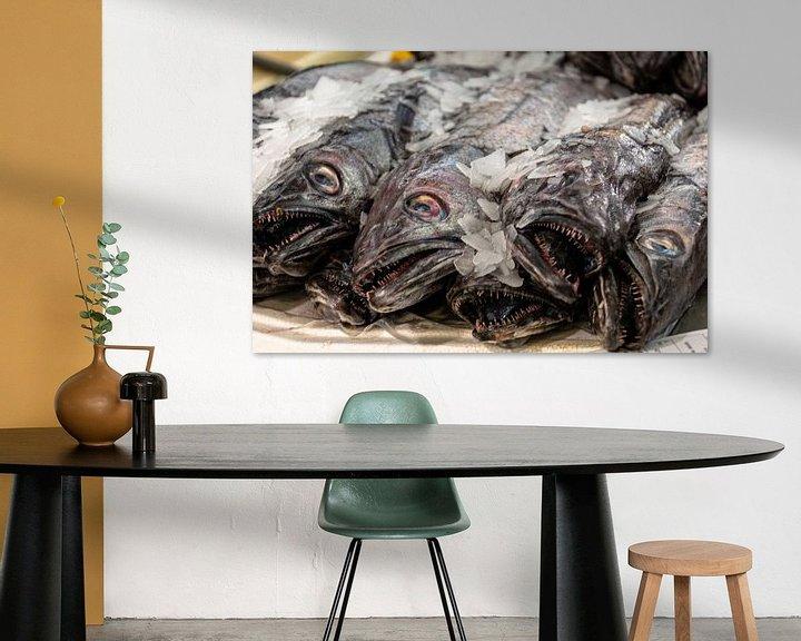 Sfeerimpressie: Vissen van Hans Verhulst