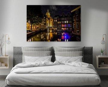 Amsterdam le soir sur Romy Oomen