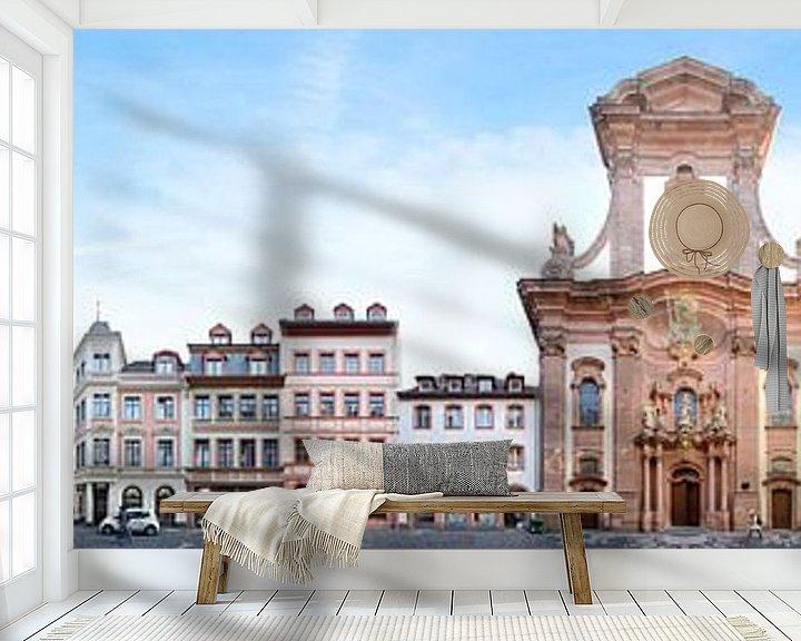 Beispiel fototapete: Mainz Augustinerstrasse Streetline von Panorama Streetline