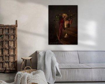 Stillleben mit Herbstblumen von Guna Andersone