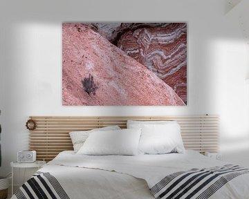 Abstracte rotsformaties in Andalusië van Lianne van Dijk