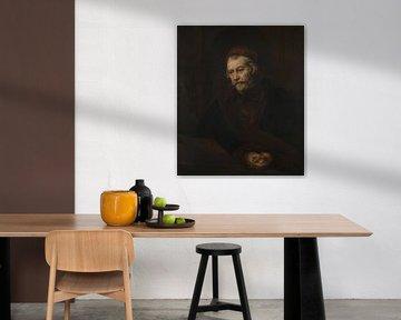 Ein älterer Mann als Heiliger Paulus, Rembrandt