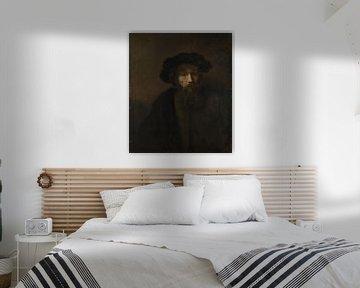 Ein bärtiger Mann mit Mütze, Rembrandt