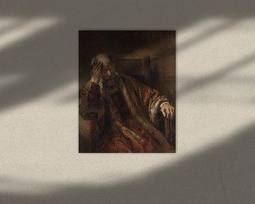 Ein alter Mann im Sessel, Rembrandt