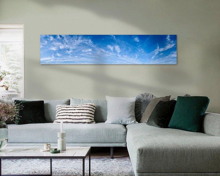 Sfeerimpressie: Blauwe lucht met wolken van Günter Albers