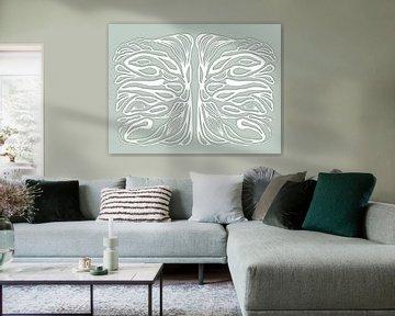 Life symmetries, weiss von Cora Verhagen