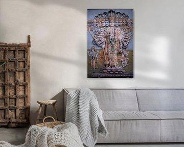 hindoeistische muurversiering van Karel Ham