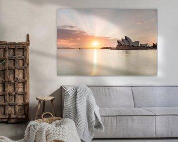 Sydney Oper Sonnenaufgang von Jiri Viehmann