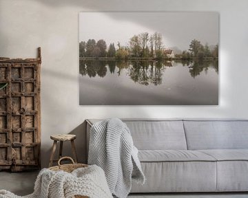 Herfst aan de rivier van Lena Weisbek