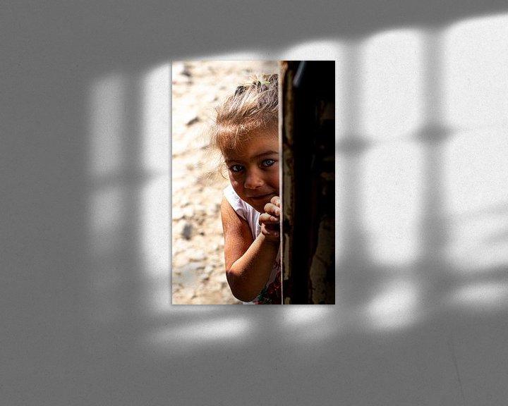 Sfeerimpressie: Wat gebeurd daar? van Amber de Jongh