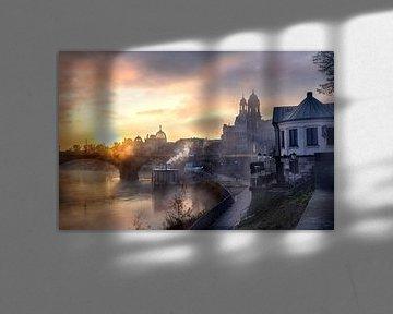 Dresden in de mist van Sergej Nickel