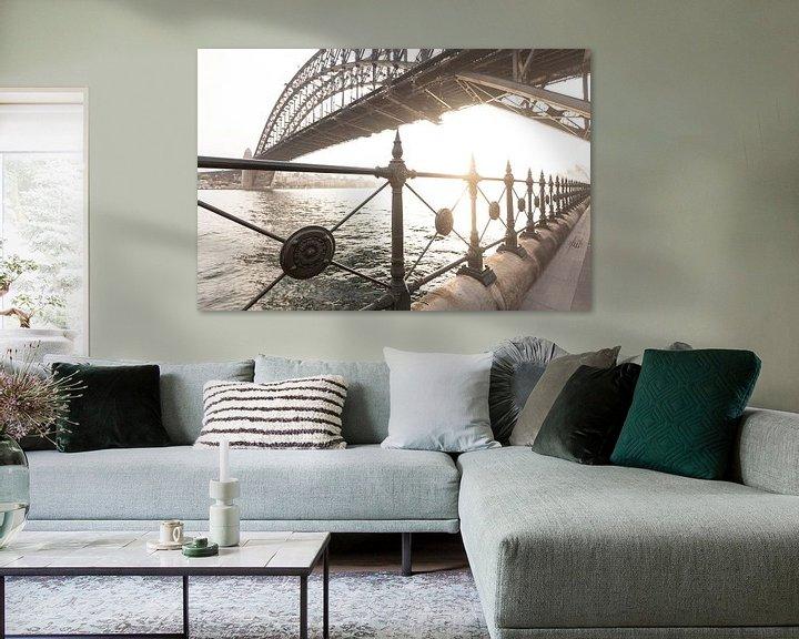 Sfeerimpressie: SYDNEY-havenbrug van Jiri Viehmann