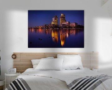Amsterdam Skyline von Rudolfo Dalamicio