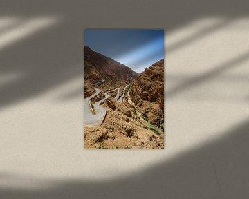 Dades Kloof in Marokko van Eline Chiara