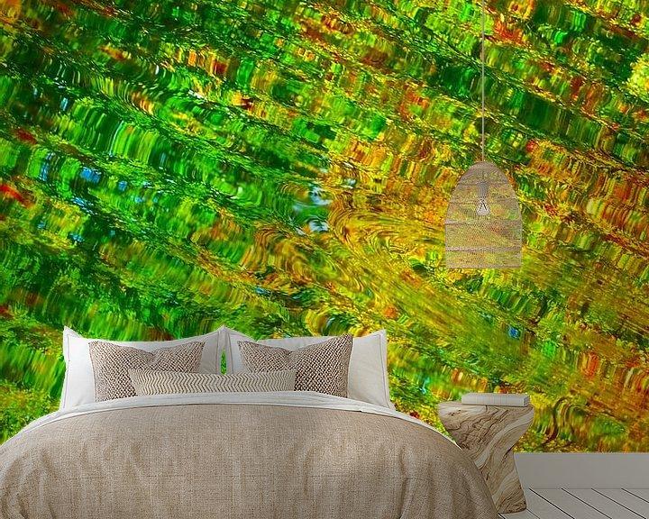 Sfeerimpressie behang: Urban Painting 144 van MoArt (Maurice Heuts)