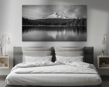 Sonnenuntergang Mount Hood, Oregon von Henk Meijer Photography