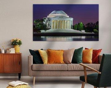 Das Thomas Jefferson Memorial, Washington D.C. von Henk Meijer Photography