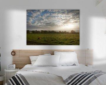 Zonsopgang in de Ardennen van Erik van Rosmalen