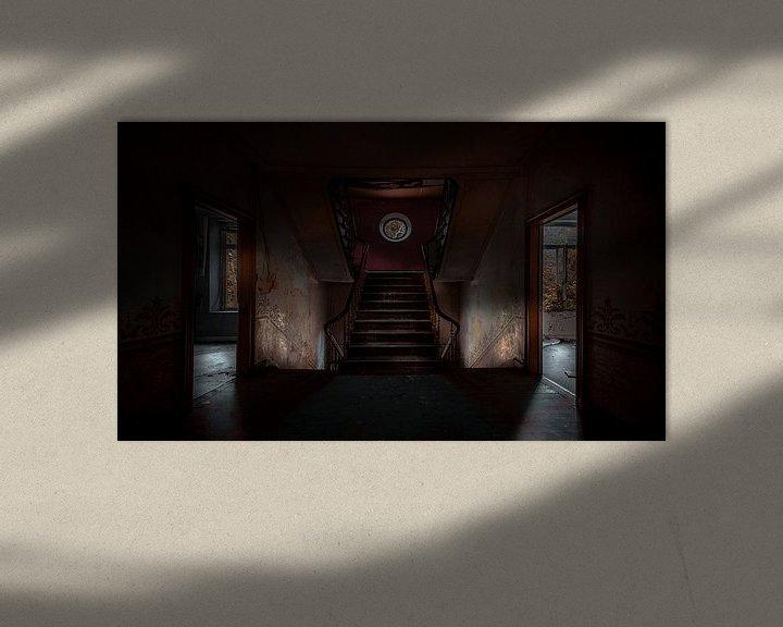 Beispiel: Symmetrisches Treppenhaus von Olivier Photography