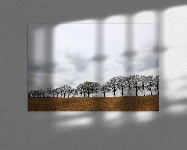 Sfeerimpressie: Bomenrij van Rob Hendriks