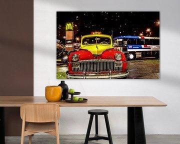 Yellow Cab, Taxi, DeSoto Chrysler von Hans Levendig (lev&dig fotografie)