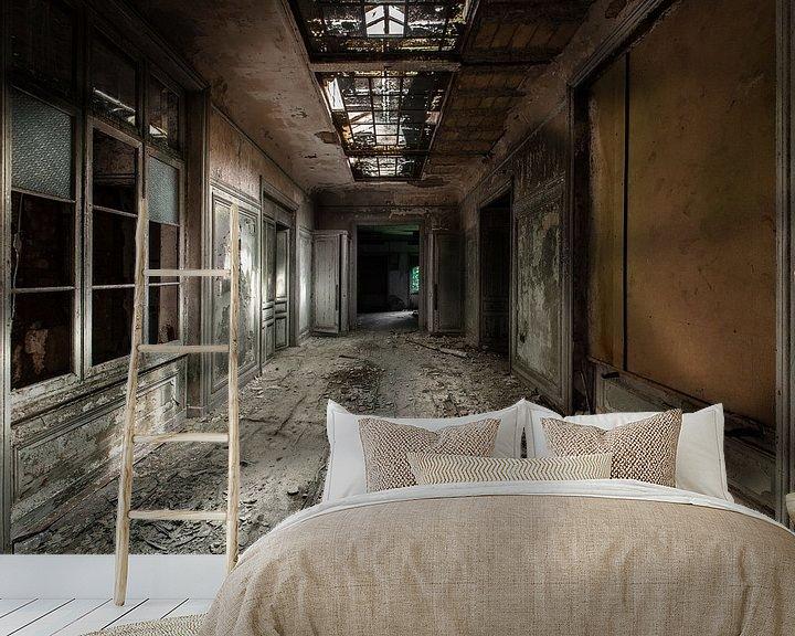 Beispiel fototapete: Der dunkle Raum von Olivier Photography