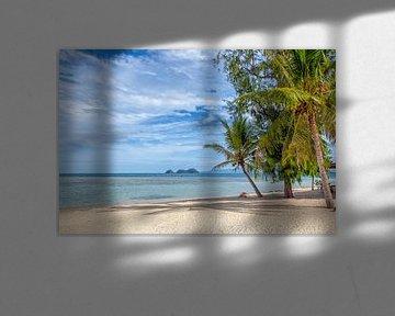 Une île tropicale magnifique en Thaïlande. Une plage panoramique. sur Tjeerd Kruse