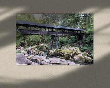 Irreler waterval brug en rivier van ProPhoto Pictures