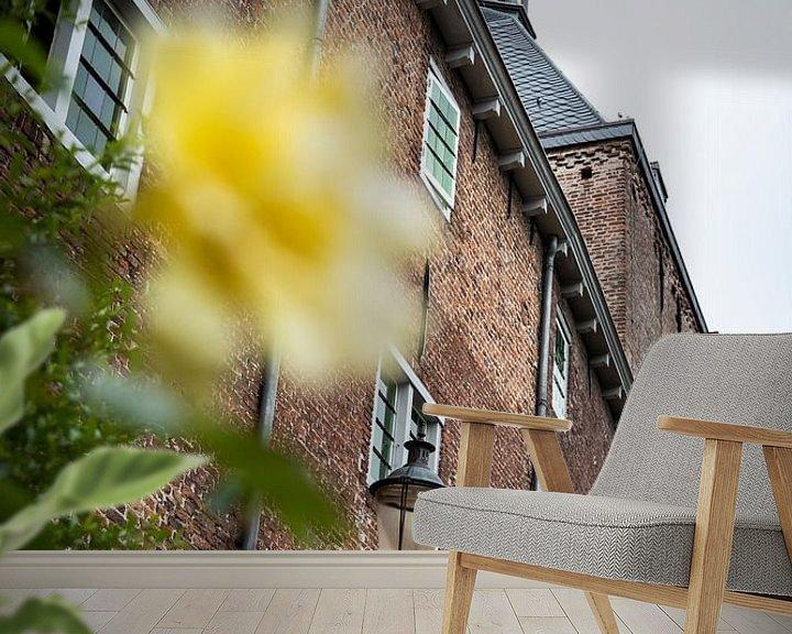 Sfeerimpressie behang: Amersfoort, Muurhuizen van Ester Overmars