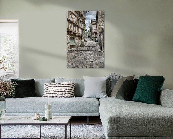 Beispiel: Mittelalterliche Straße von Mark Bolijn