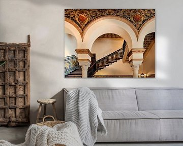 La grandeur espagnole à Séville sur Anouschka Hendriks
