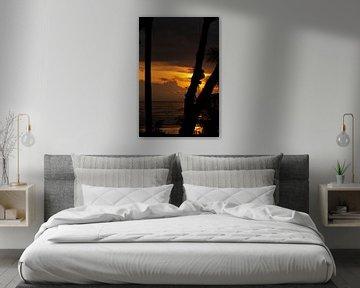 Coucher de soleil costaricain sur Jan Tuns