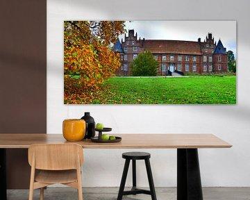 Kasteel herfst panorama van Edgar Schermaul