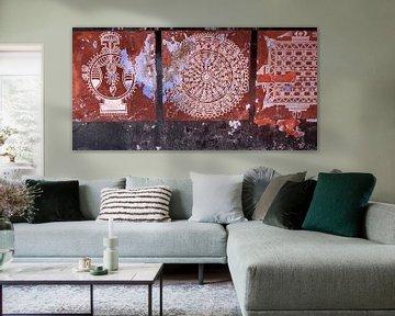 Muurschildering van Affect Fotografie