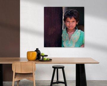 meisje in groen van Affect Fotografie