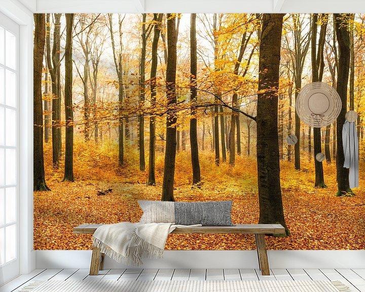 Impression: La forêt d'orangers sur Albert Lamme