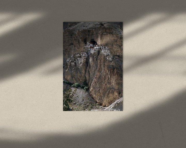 Sfeerimpressie: Phugtal Gompa, een Boeddhistisch klooster in Ladakh, India van Affect Fotografie