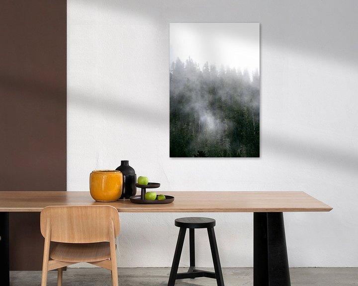 Sfeerimpressie: Mist in de bomen van Rauwworks