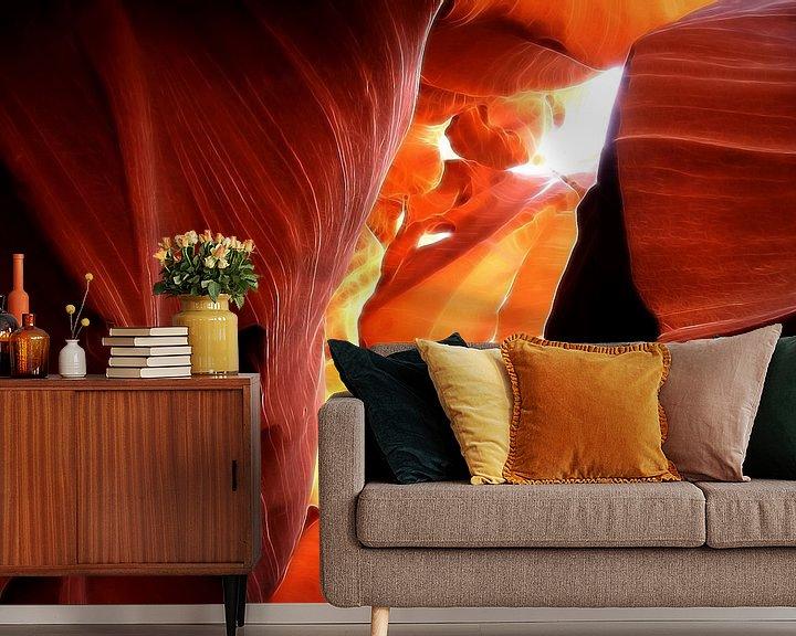 Sfeerimpressie behang: Antelope Canyon van Renate Knapp