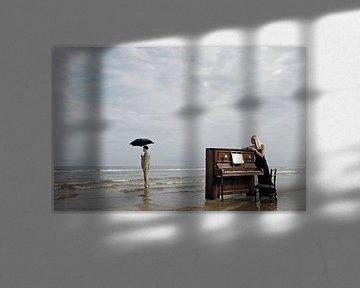pianiste sur Hans Vink