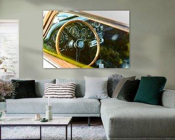 Aston Martin DB5 interieur van Sjoerd van der Wal
