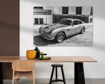 Aston Martin DB6 klassieke Britse Grand Tourer sportauto van Sjoerd van der Wal