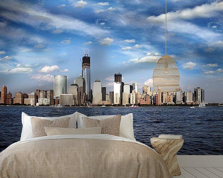 Sfeerimpressie behang: New York City van Renate Knapp